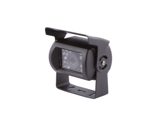 DISCONTINUED - Accelevision RVC500S Surface Mount Universal Infrared Adjustable Angle Rear View Back Up Camera with Anti-Glare Shield