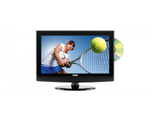Discontinued -  Naxa NTD-15-555 Dual Power 15.6 Inch Widescreen HD LCD Portable Television with Built-in Digital TV Tuner and DVD Player