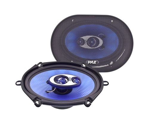 Pyle PL573BL 5x7 and 6x8 Inch Car Speakers - Main