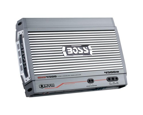 DISCONTINUED - Boss Audio NXD4500 Onyx Series Monoblock Power Amplifier 4500W Class D