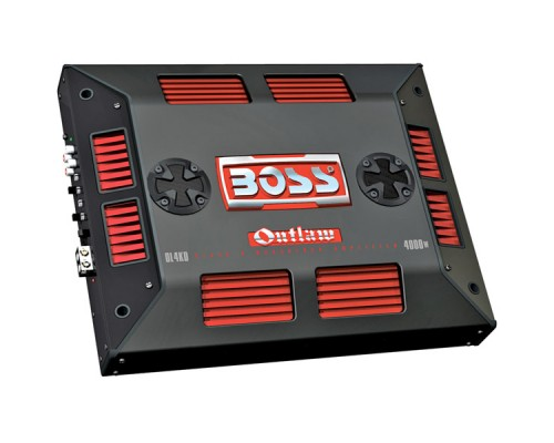 Discontinued - Boss OL4KD Class D Monoblock Power Amplifier With Remote Subwoofer Level Control