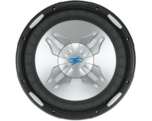 DISCONTINUED - Power Acoustik P3-10W P3 Series 10 Inch Dual Voice Coil Subwoofer Polypropylene Injection Molded Cone
