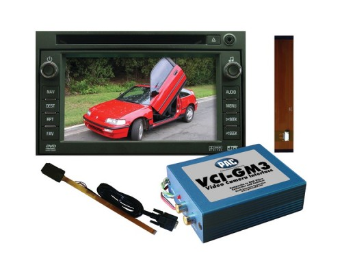 DISCONTINUED - PAC VCI-GM3 Video Camera Navigational Radio Interface for 2007-2008 GM SUVs and Trucks