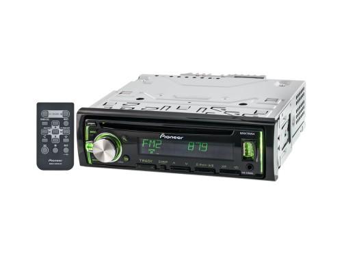 Pioneer DEH-X3800UI Single-DIN In-Dash CD Car Stereo Receiver - Main