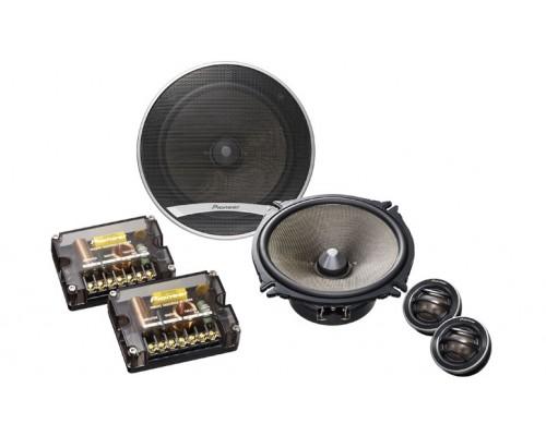 Pioneer TS-D1720C D Series 6 3/4 Inch 260 Watt Component Speaker Package