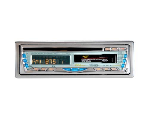 Pyle PLCD-CS90 50-Watt X 4 CD/Cassette Receiver with Detachable Face Car Stereo