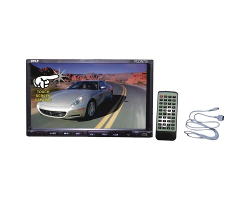 """DISCONTINUED - Pyle PlDN73I 7"""" Double-Din Tft Touch screen Dvd/Vcd/Cd/Mp3/Mp4/Ipod Connector"""