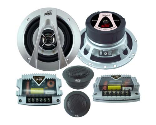 Pyle PLDV6K Driver Series 6.5 Inch 2-Way Component Speaker System