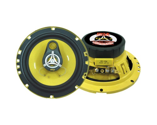Pyle PLG6.3 6.5 Inch 3-Way Speakers - 280W Max