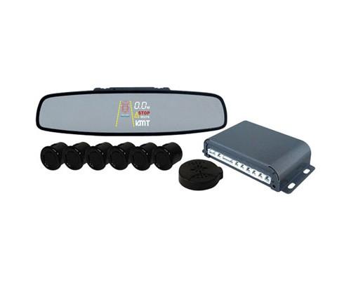 Pyle PLPSE6 Back Up Sensor System Reverse Parking 4 Ultrasonic Rear Sensors