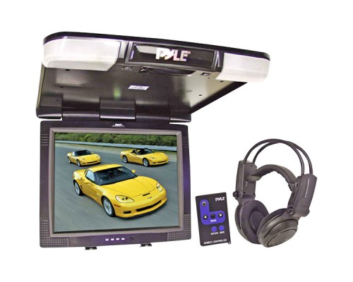 "DISCONTINUED - Pyle PLVW-R20T 20"" Widescreen Overhead Flip down Video Monitor"