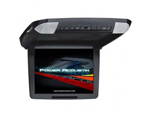 Power Acoustik PMD-121CMX 12.1 Inch Flip Down Monitor with Built In DVD Player and Interchangeable Color Skins