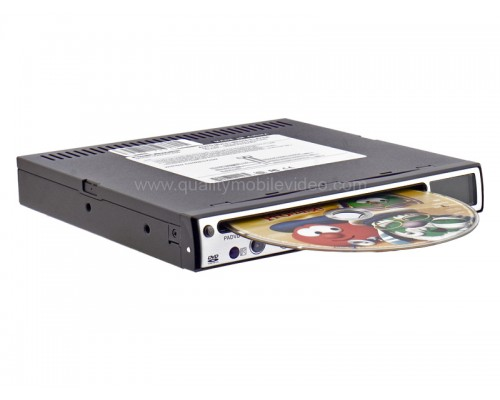 DISCONTINUED - Power Acoustik PADVD-450 Half-DIN In-Dash Slim DVD Player