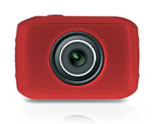 Pyle PSCHD30RD Hi-Speed HD 720P Wide-Angle 5 Mega Pixel Digital Camera/Camcorder