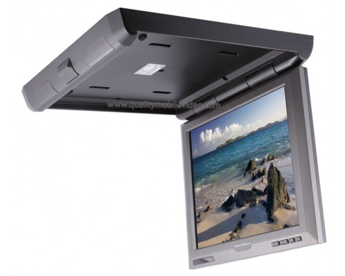 "DISCONTINUED - Power Acoustik PT-151 15.2"" overhead roof mount monitor"