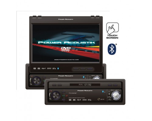 DISCONTINUED - Power Acoustik PTID-8940NR Single Din In dash Monitor with 7 Flip-Up TFT-LCD Touch Screen