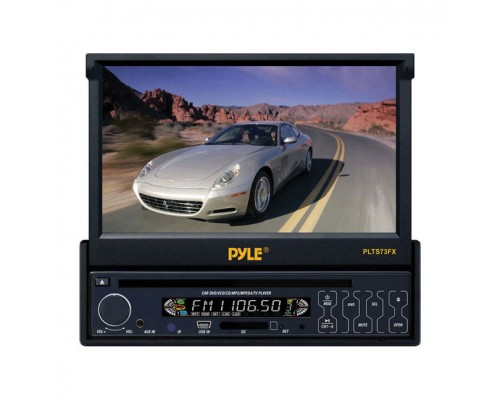 "PYLE PLTS73FX 7"" Single-DIN In-Dash Motorized Car Stereo"