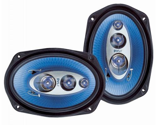 Pyle PL6984BL Blue Label 6x9 Inch 400 Watt 4 Way Quadriaxial Speaker System