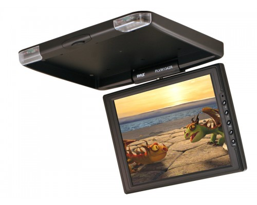 "Discontinued - Pyle PLVW-1342R 13"" TFT Roof-Mount LCD Monitor"