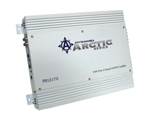 DISCONTINUED - Pyramid PB1217X Arctic Series 2-Channel Mosfet Amplifier 1600W