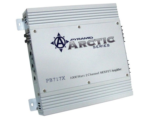 DISCONTINUED - Pyramid PB717X Arctic Series 2-Channel Mosfet Amplifier 1000W