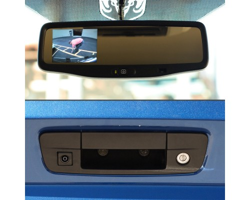 2009-2011 Dodge Ram Rear View Back Up Camera - Views