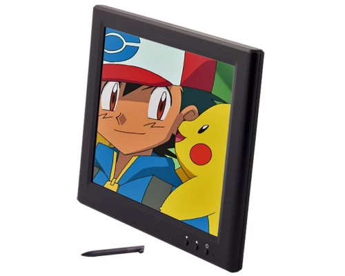 Quality Mobile Video CVFQ-E124 8 inch USB monitor for computer - Main