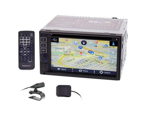 Rosen PR-UN1170-US 6.5 inch Double DIN Navigation System - Main unit