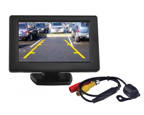 Tview Rv43c Tft Lcd Video Rear View Mirror Monitor With
