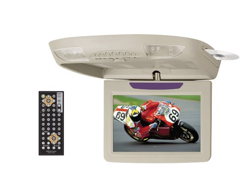 """Sound Storm (SSL) S104CT 10.4"""" Widescreen Flip-down TFT Monitor with Built-In DVD Player"""