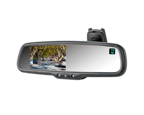 "Safesight RVMZH4300CT 4.3"" Rearview Mirror Monitor - Main Display"