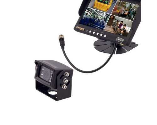 Safesight SC9002Q 7 inch Quad Screen LCD Monitor with (1) SC0104 Back up camera