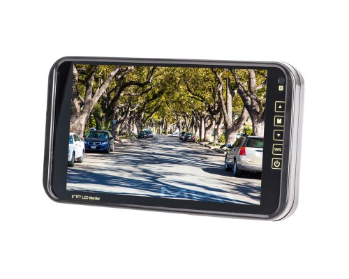 Safesight 9 inch rearview mirror monitor - Main