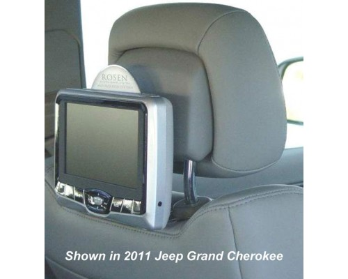 2010 - 2011 Lexus RX350 - RX450H Rosen AV7700 Seat back mounted DVD system for Active Headrests