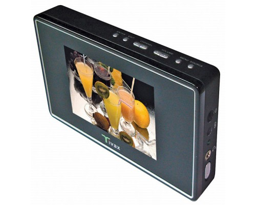 "DISCONTINUED - Tivax SCOUT35 3.5"" Widescreen Portable Digital LCD TV"