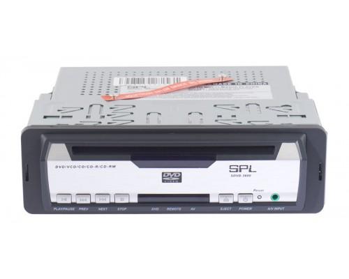 DISCONTINUED - SPL SDVD-3600 Single DIN In Dash DVD Player