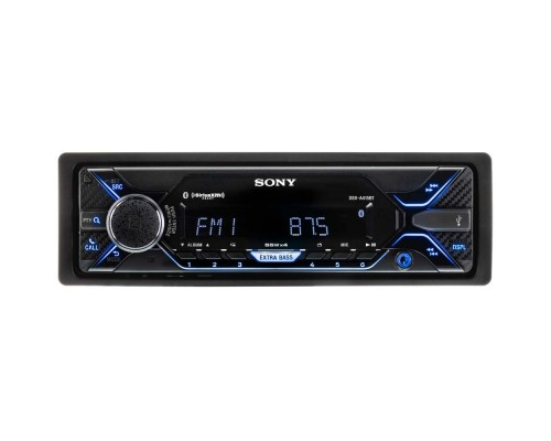 Sony DSX-A415BT Single DIN Car Stereo Receiver with Bluetooth and NFC
