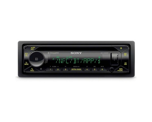 Sony MEX-N5300BT Single DIN CD Car Stereo Receiver with Bluetooth and SiriusXM Ready