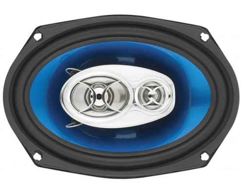 Sound Storm (SSL) F369 6x9 Inch 3-Way Speaker 400 Watts Poly Injection Cone