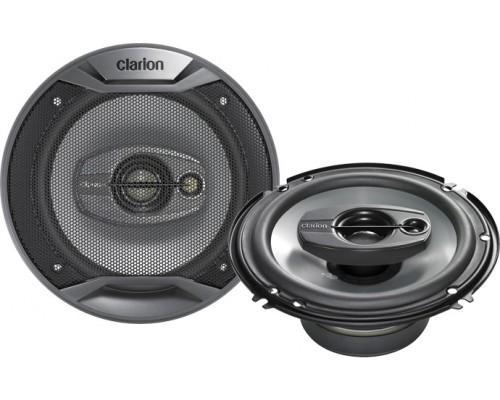 DISCONTINUED - Clarion SRQ1631R 6 1/2 Inch Multiaxial 3-Way SRQ Series Speakers (Pair - 280 Watts Peak Power)