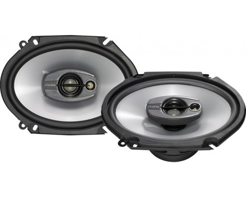DISCONTINUED - Clarion SRQ6831C 6x8 Inch 3-Way SRQ Series Multiaxial Car Speaker System (Pair - 350 Watts Peak Power)