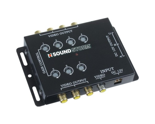 Discontinued-Soundstorm SVA7 Video Signal Amplifier 1-in 7-out