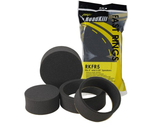 "Stinger RoadKill RKFR5 5"" and 5-1/4"" Foam Fast Rings - 6-Piece"