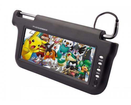 Accelevision ZSV102P 10.2 inch Sun Visor LCD Monitor - Grey