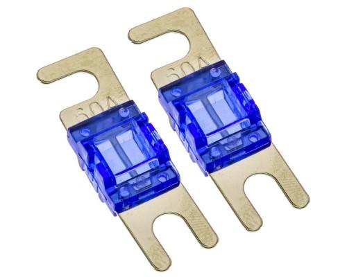 T-Spec V8-MANL60 Pack of 2 V8 Series 60 Ampere Nickel Plated MANL Fuses