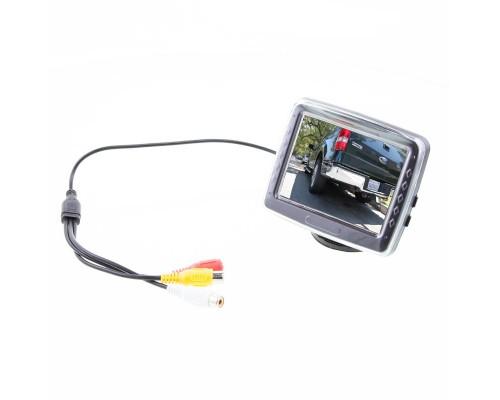 "Safesight TOP-035LD 3.5"" Back up monitor with adjustable pedistal mount"