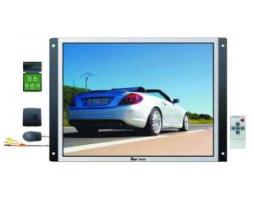 LCDTRP1577 Mobile Video 15 inch TFT/LCD Screen Wall Mount Flat Panel Video Monitor