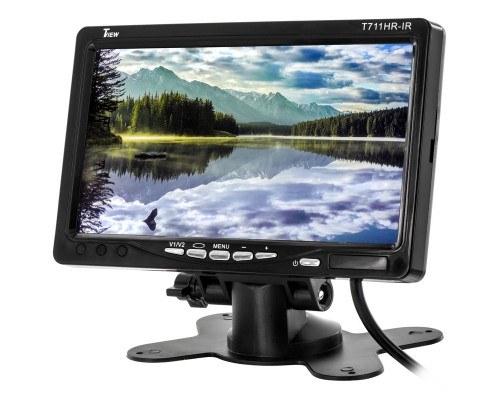 Tview T711HR-IR 7 Inch Widescreen TFT LCD Monitor - Main