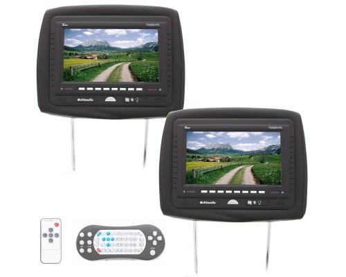 Tview T929DVPL Dual 9 inch headrest DVD players - Main