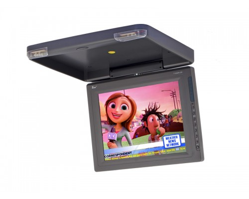 Tview T1508IR 15 Inch Roof Mount Flip Down